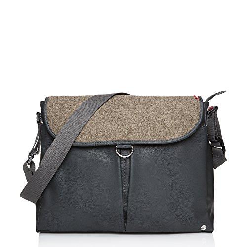 Babymel Ally Vegan Leather Tote Diaper Bag, Tan
