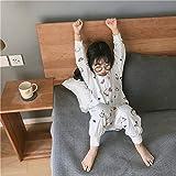 HELIn Babyschlafsack - Schlaf Winter Herbst Auf 0-6 Jahre Alten tragbaren Schlafsack aus Bio-Baumwolle Unisex Baby Safe auftragen (Color : B, Size : 90)