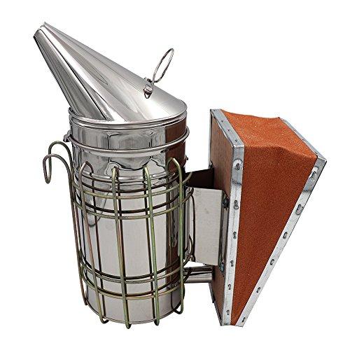 Farm & Ranch Edelstahl Bienenzucht Smoker Imkerei Smoker Imkerei Ausrüstung und Werkzeuge Imker-Werkzeuge