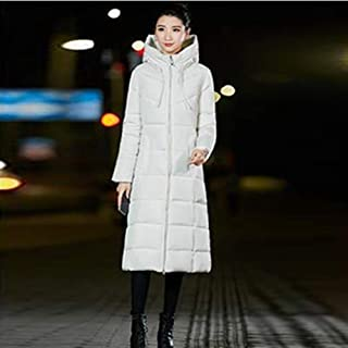 Very Beautiful Winter Warm Thicker Down Jacket Women Casual Long Hooded Zipper Down Coats Ladies Vogue Outerwear 6XL Big Size Synthetic Feather Warmth Throughout The Winter