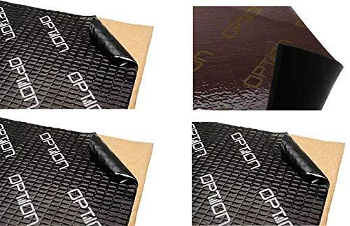 DÄMM-Premium Dämmungspaket fürs Auto - OPTION Dämmpaket 3X OPTION Alubutyl Dämmmatten á 75cm x 50cm und 1x OPTION Polyurethan Schaum Matte 100cm x 60cm selbstklebend