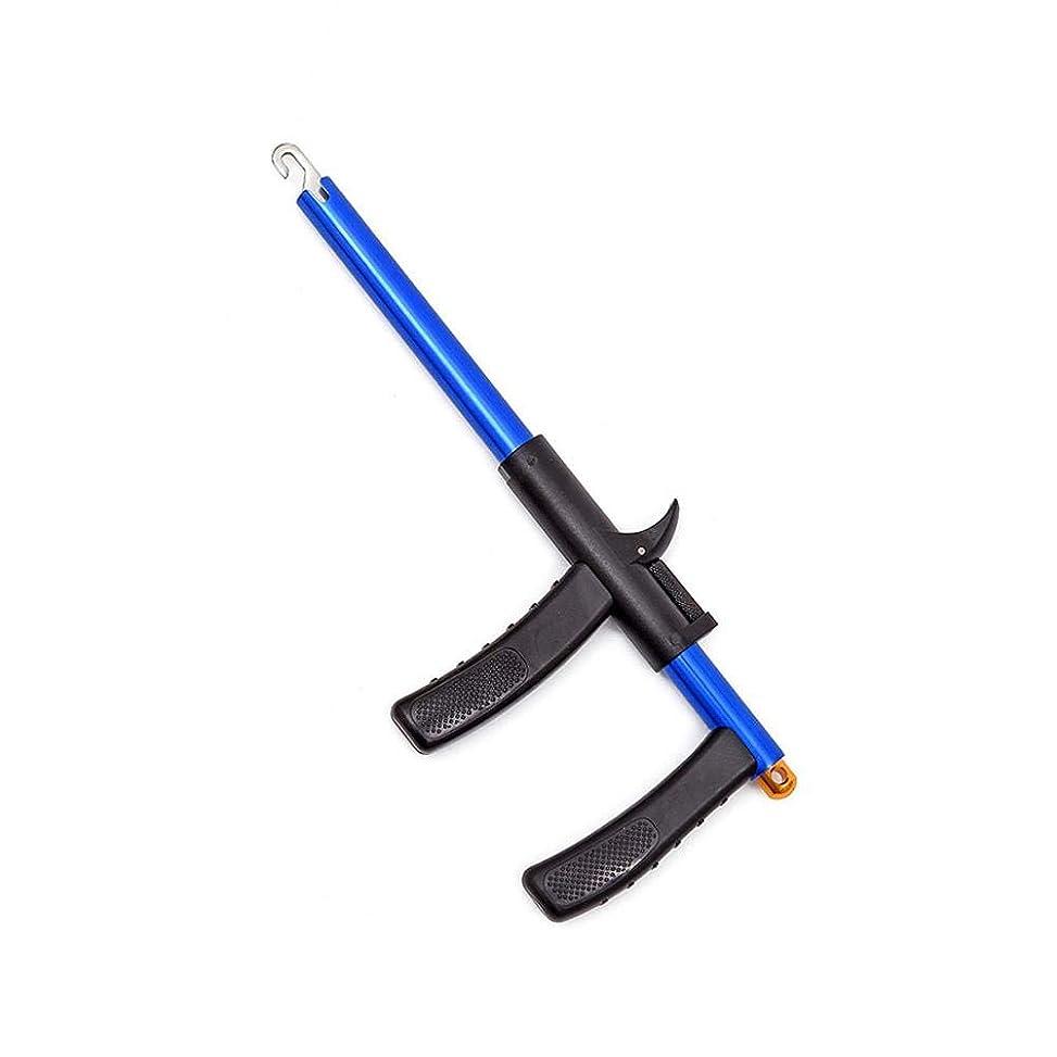 急ぐ事前にスイFECHO フックリリーサー トラウト プライヤー フックリムーバー?針外し?フックリリーサー?アルミ合金 釣り道具 片手操作 ?プラスチックハンドル? 錆に強く 使いやすい