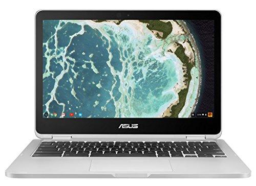 ASUS Chromebook Flip C302CA-DH54 12.5-inch Touchscreen Convertible Chromebook Intel Core m5, 4GB RAM, 64GB Flash Storage Chrome OS (Certified Refurbished)