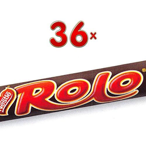 Nestle Rolo Single 36 x 52g Packung (Schokolade mit Karamellfüllung)