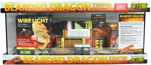 Exo Terra Bearded Dragon Starter Kit (20 Gallon Long)