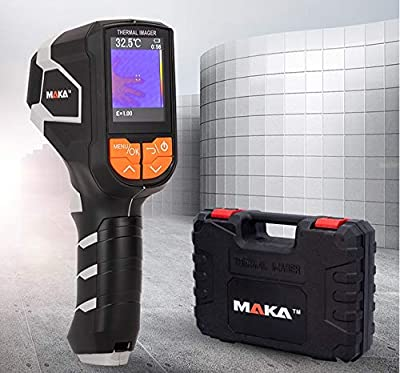 "IR Infrared Thermal Imager, 240 x 320 Resolution -4-1832°F Hand held Pixels Thermal Imaging Camera Used As Infrared Thermometer with 2.4"" Color Display Screen"