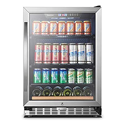 15 Inch Wide 70 Cans, Sinoartizan Under Counter Beverage Cooler