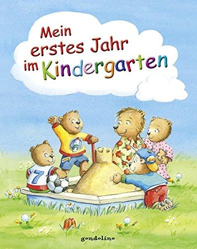 Mein erstes Jahr im Kindergarten: Großformatiges und wattiertes Eintragbuch mit zahlreichen wunderschönen Illustrationen für 5,00 €. Für Kinder schon ... Das Geschenkbuch für Kindergartenkinder.