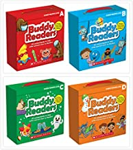 Scholastic Buddy Readers Parent Pack Boxes Set (4 Boxes) - Guided Reading Level A, B, C, D