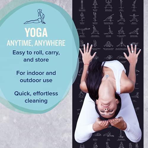 NewMe Fitness Exercise Yoga Mat - 24