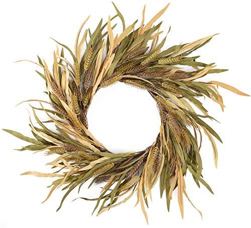 YNYLCHMX Artificial Fall Wreath 18