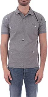 SUN 68 Luxury Fashion Mens A3012034 Grey Polo Shirt |