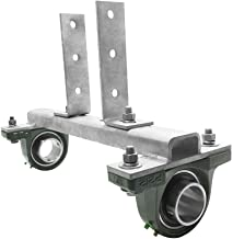 BH-USA Dual Pillow Block Pipe Support
