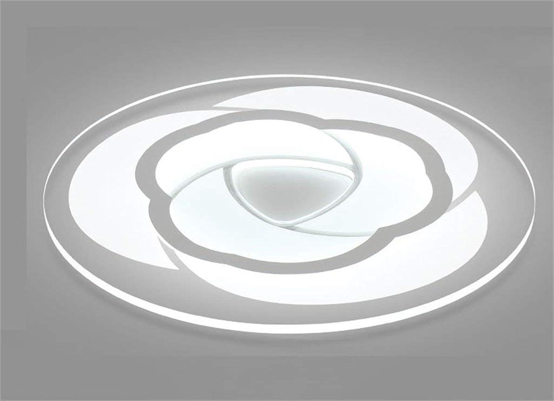 XHCP Moderne Minimalistische Dünne Kreative Persnlichkeit Warme Runde LED Deckenleuchte Kinder Schlafzimmer Schlafzimmer Arbeitszimmer Wohnzimmer Deckenleuchte (Farbe  Weies Licht-20cm)