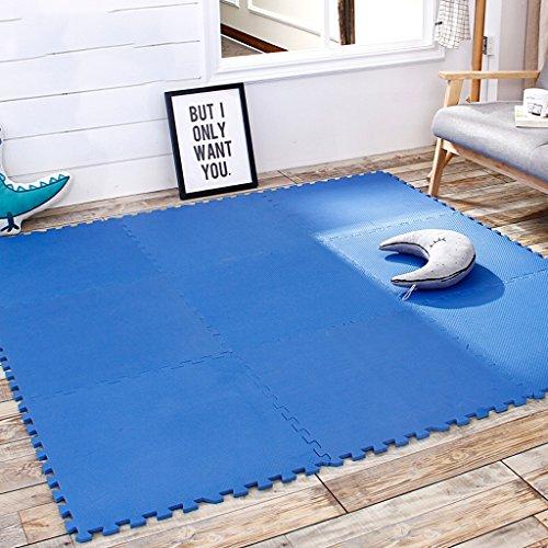 LINGZHIGAN Mousse en forme de T Tapis de sol Nouveau Design Concept Enfants Splice Ramper Pad Padded Bébé 60 * 60cm4pcs (Couleur : A)