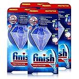 Calgonit Finish Protector 30 g – Protección de color y brillo – aprox. 30 cisternas (4 unidades)