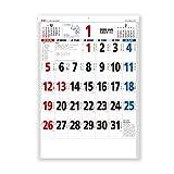 新日本カレンダー 2020年 カレンダー 壁掛け 星座入り文字月表 3色 NK180