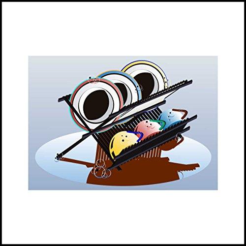 Fliesenaufkleber Fliesentattoos für Bad & Küche - Küchenfliesen für einzelne Fließen 10x10 cm - MF653 - Bowling-Kugel