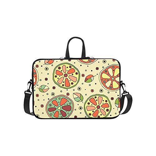15.6″Durable Hombro Mensajero Bolsa maletín PC Patrón Infantil Moda Impermeable Ordenador Portátil/portátil/Tablets
