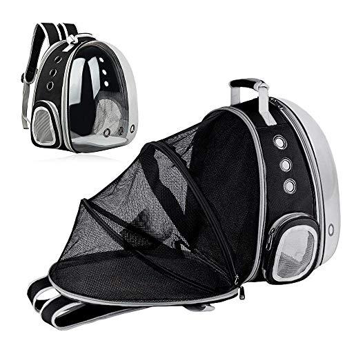 Geggur Mochila de transporte para mascotas, mochila de astronauta para gatos, mascotas, gatos, mochila de burbujas para cachorros, perros, gatos, ligeras, para caminar al aire libre