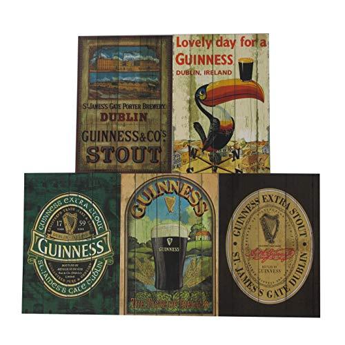 Guinness Nostalgie Postkarten Set