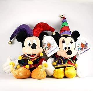Tokyo Disneyland 15th anniversary of Mickey & Minnie Jester set