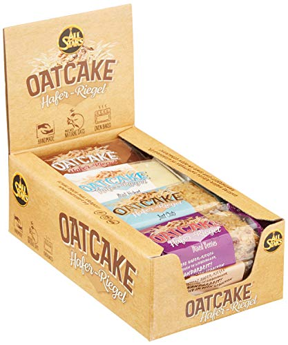 All Stars Oatcake Hafer-Riegel, Mix-Box, 12er Pack (12 x 80 g)