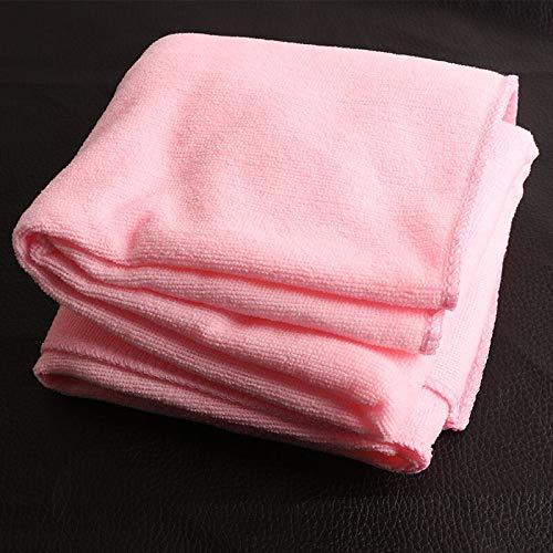 DOROCH 70 * 140 cm Viaje Delgada de absorción Toallas Verde Playa del baño Deporte Absorbente Toallas de Secado del Gimnasio del Deporte Que acampa de baño Ducha (Color : Pink)