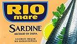 rio mare - sardine all'olio di oliva, ricche di omega 3, 1 lattina da 120g