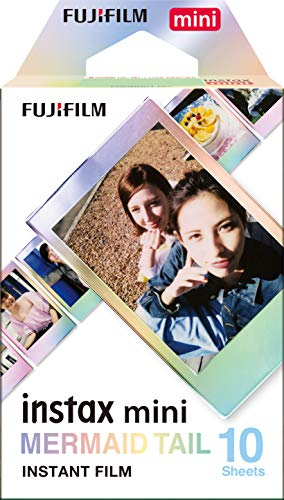 Fujifilm Instax Mini Mermaid Tail Film - 10 Exposures