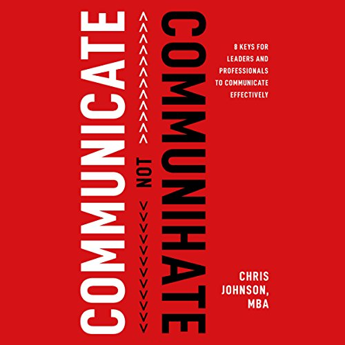 Communicate NOT Communihate audiobook cover art