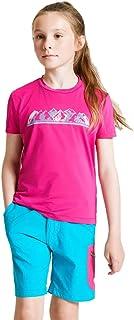 Dare2b Rightful - Camiseta Informal Estampada, Tejido de Secado Rápido, Costuras Planas Y Detalles Reflectantes T-Shirts/P...
