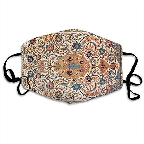 Herramienta de cuidado ajustable, bufanda facial unisex, protector facial transpirable, Isfahan, estampado...
