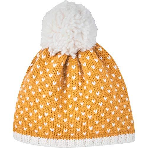 Finkid Pekoni Gelb, Kinder Kopfbedeckung, Größe S - Farbe Golden Yellow - Offwhite