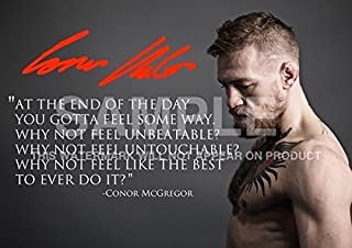 """Best Conor McGregor UFC Champion Mixed Martial Artist Fighter Print (11.7"""" x 8.3"""") Review"""