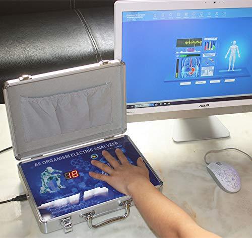 CareforYou Quantum Magnetic Resonance Health Body Analyzer der 9. Generation Deutsch 45 Bericht