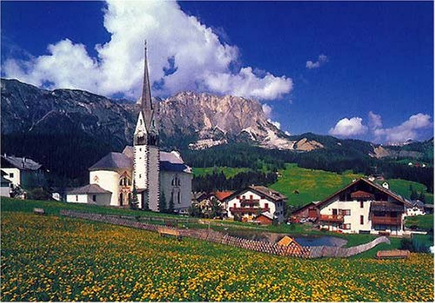 Church RS13271 of the 1000 Peace Dolomites (japan import)
