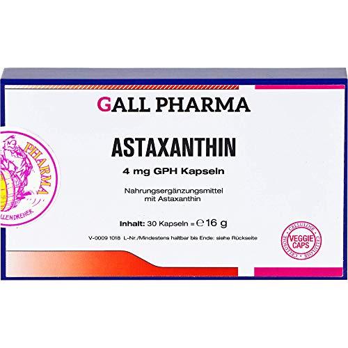 GALL PHARMA Astaxanthin 4 mg GPH Kapseln, 30 St. Kapseln