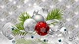 punto de cruz kit -Campanas, regalo navideño, celebración- punto de cruz niñas set punto de cruz tela punto de cruz blanco cuadros de punto de cruz para hacer punto de cruz niños kit