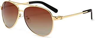 Vintage Aviator Sunglasses for Men Women Gold Frame Retro Brand Designer Classic Cliff Booth Sunglasses