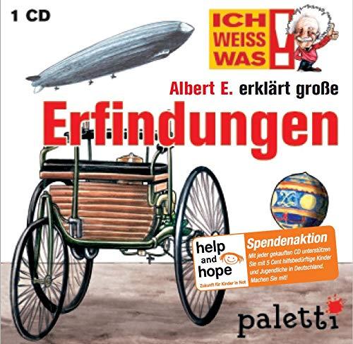Ich weiss was: Albert E. erklärt große Erfindungen Kinder Wissens CD Hörbuch