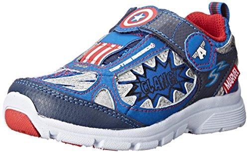Stride Rite Avengers Captain America Light-up Athletic Shoe