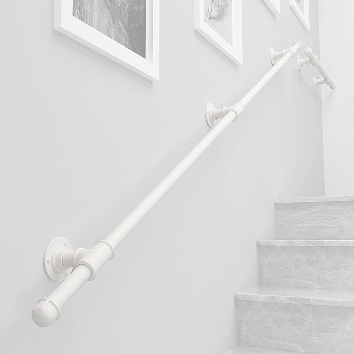 qiaosiye Stair Railing Kit Indoor Brackets Popular New product!! brand Handrail St with for