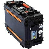 LLC Conveniente Operación de Alta Potencia 2000wh portátil de la Central eléctrica de CA y CC Generador Solar de Calidad Militar Power Ups Herramientas al Aire Libre (V: 220 V, WH: 2000)