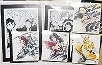 鬼滅の刃 映画 兄妹の絆 来場者特典 色紙4種&漫画ボード2種セット