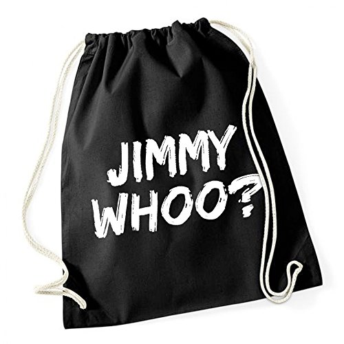Certified Freak Jimmy Whoo? Gymsack Black