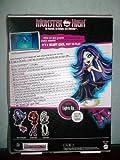 Muñeca RARE Monster High GHOUL'S Alive. Especial Vondergeist se enciende y emite sonidos fantomático...