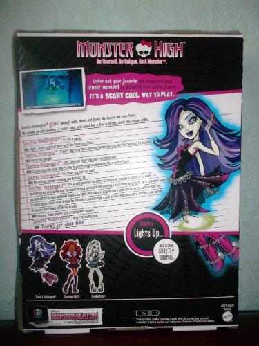 Poupée RARE Monster High GHOUL'S ALIVE !SPECTRA Vondergeist s'allume et émet des sons fantomatique