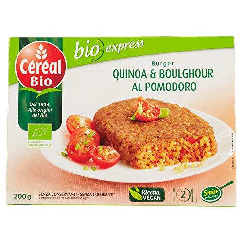 Céréal Bio Burger Quinoa e Boulghour al Pomodoro Bio - 200 g