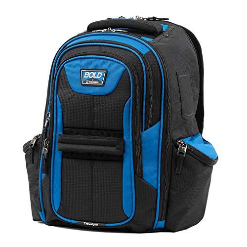 Travelpro Bold-Lightweight Laptop Backpack, Blue/Black, One Size